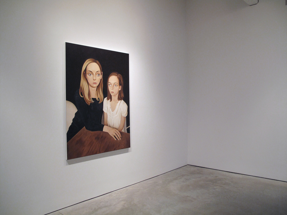Tracy Williams  gallery turns 10 today! Happy anniversary.    (Image: Estelle and Helena, 2012)