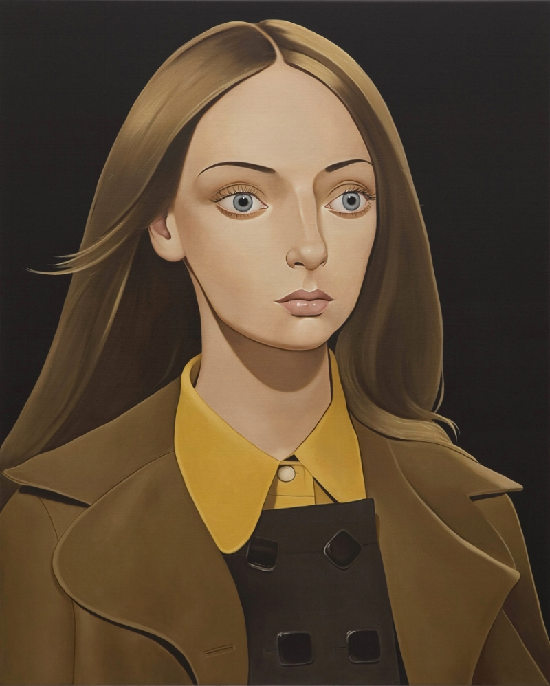Chloe Crowne, 2011 Acrylic on linen 39.4 x 31.5 inches