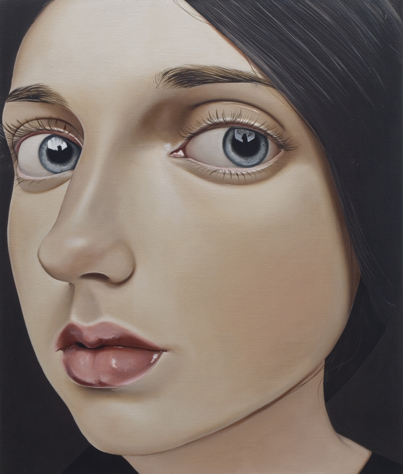 Juvenile, 2000 Acrylic on linen 19 11⁄16 inches x 23 5⁄8 in (50 x 60 cm)