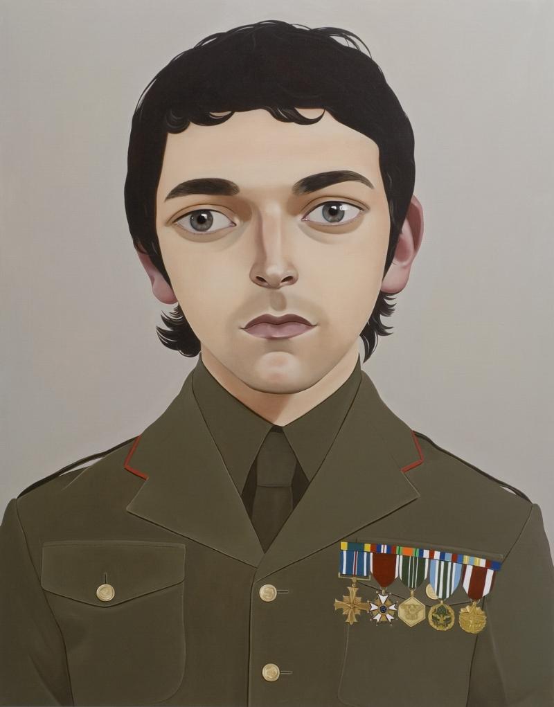 Untitled, (Dudley Benson) 2007 Acrylic on linen 83.5 x 106.4 cm