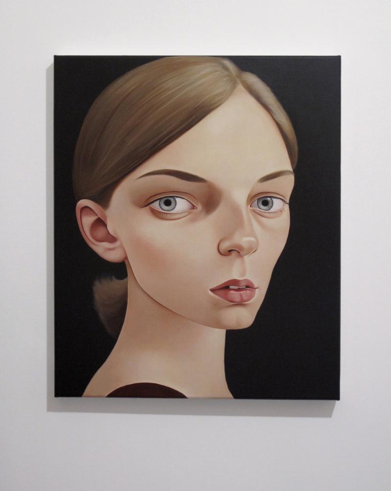 Ambrosia Beauchamp, 2010 Acrylic on linen 19 11⁄16 inches x 23 5⁄8 in (50 x 60 cm)