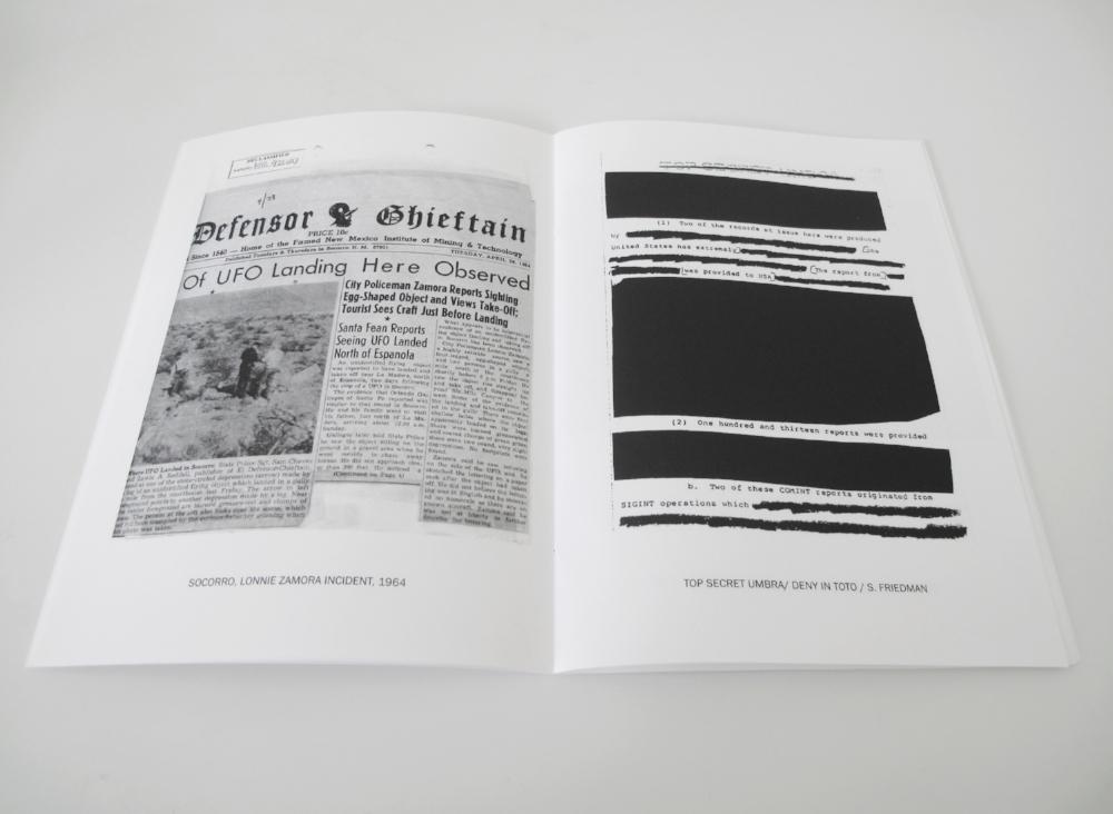 Anatomy of a PhenomenonZine 24 Pages, 14.5 x 20.5 cm, b/w Digital, Edition of 100, 2014