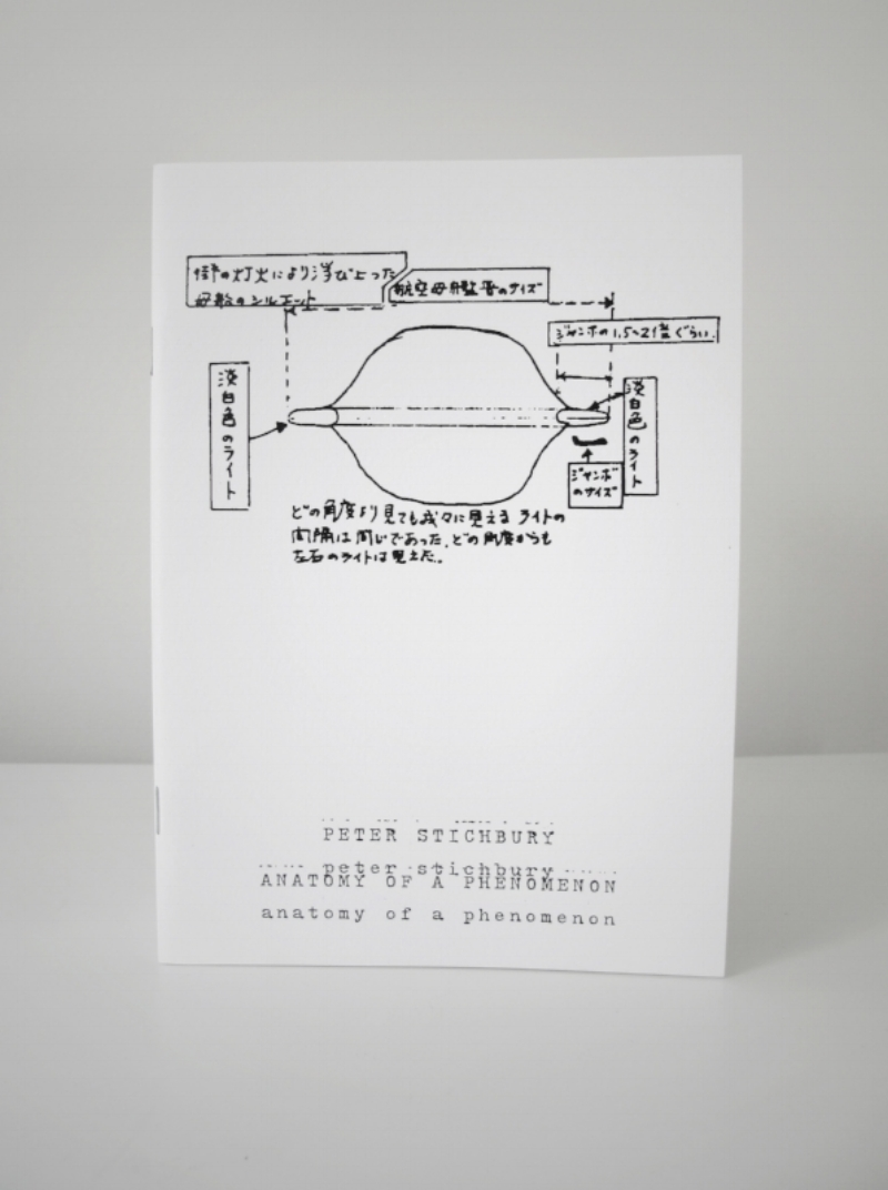 Anatomy of a Phenomenon   Zine   24 Pages, 14.5 x 20.5 cm,    b/w Digital, Edition of 150, 2014