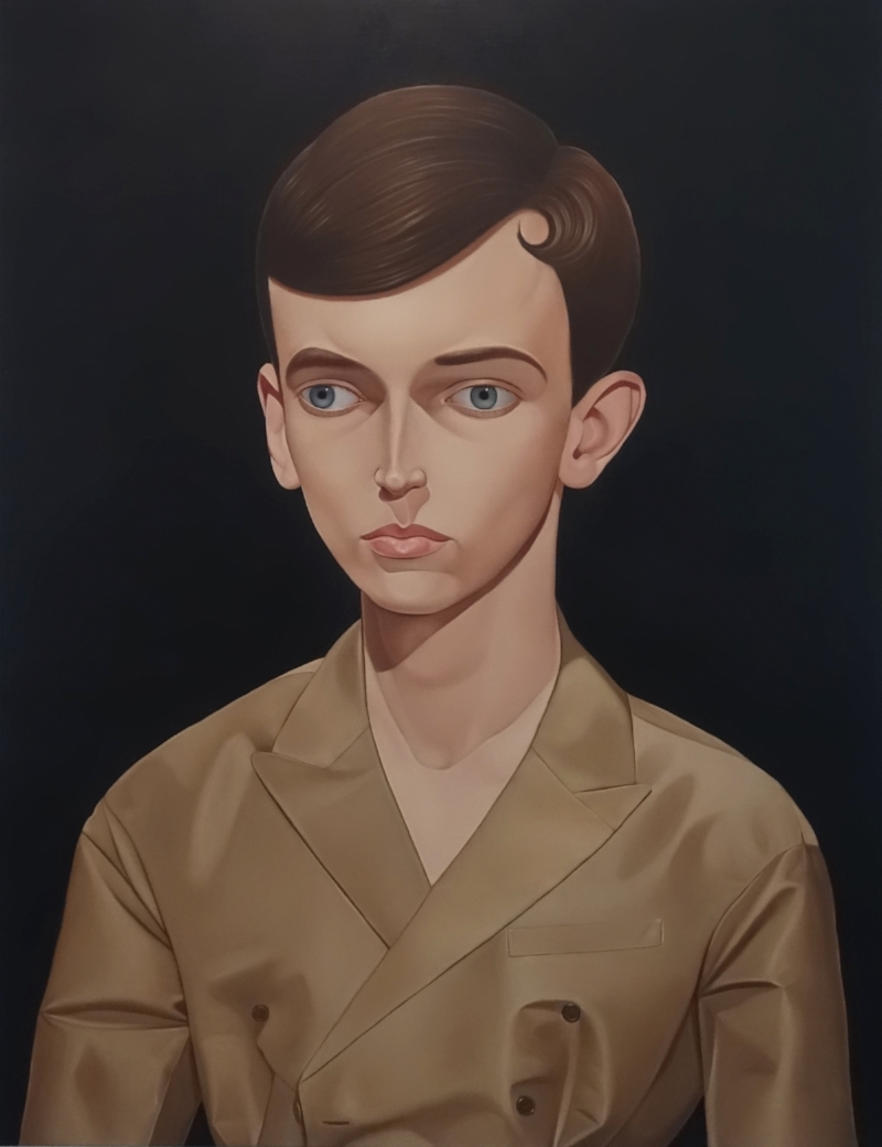 Dr X, 1968, 2017 Oil on linen 95 x 120 cm