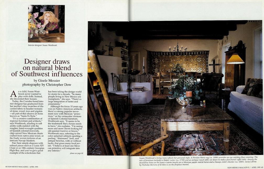 Published work u2014 susan westbrook interiors