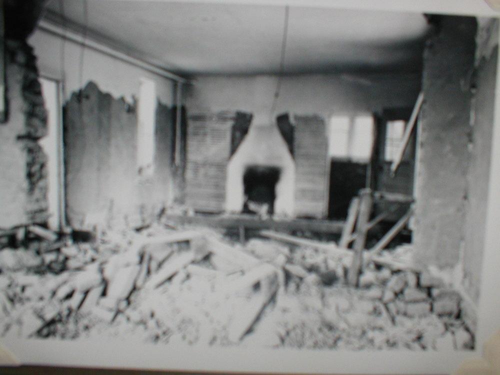 Living room circa 1950