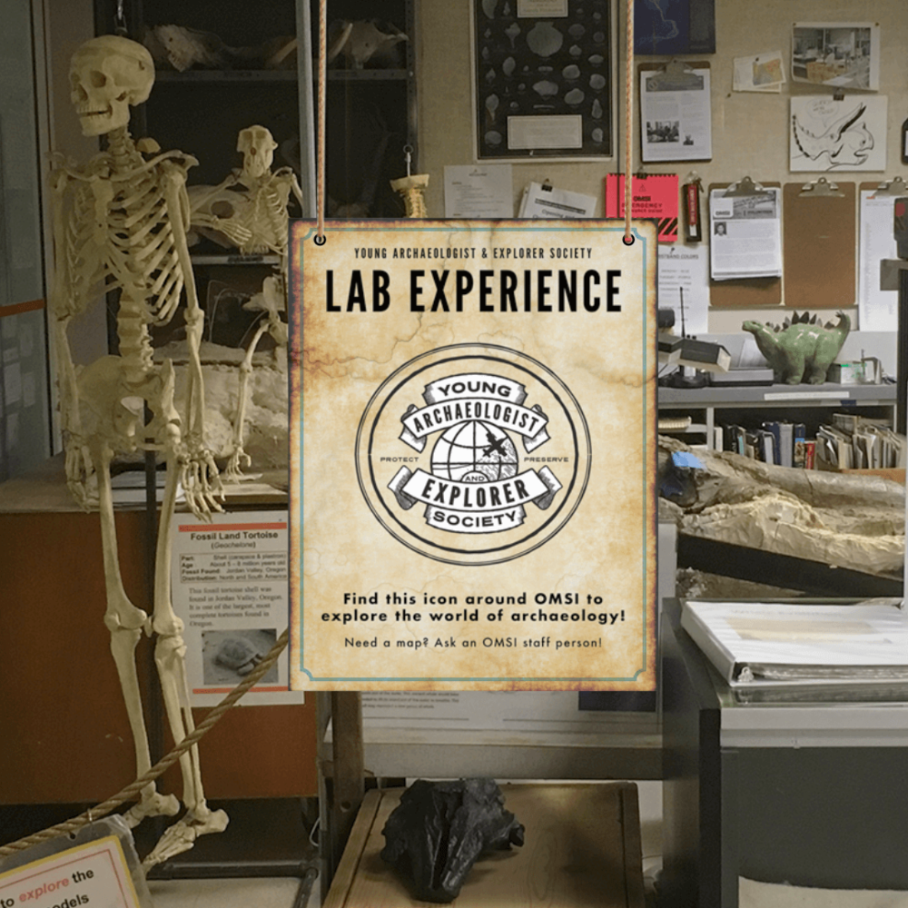 Lab Extension Signage