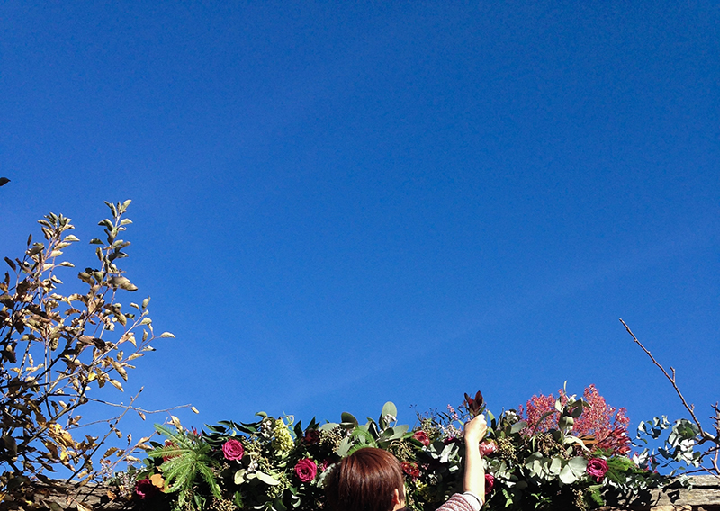 That bright blue sky - No greater Love workshop