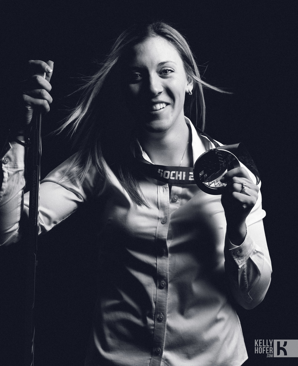 Meghan Agosta-Marciano:  Image copyright: Hockeycanada.ca