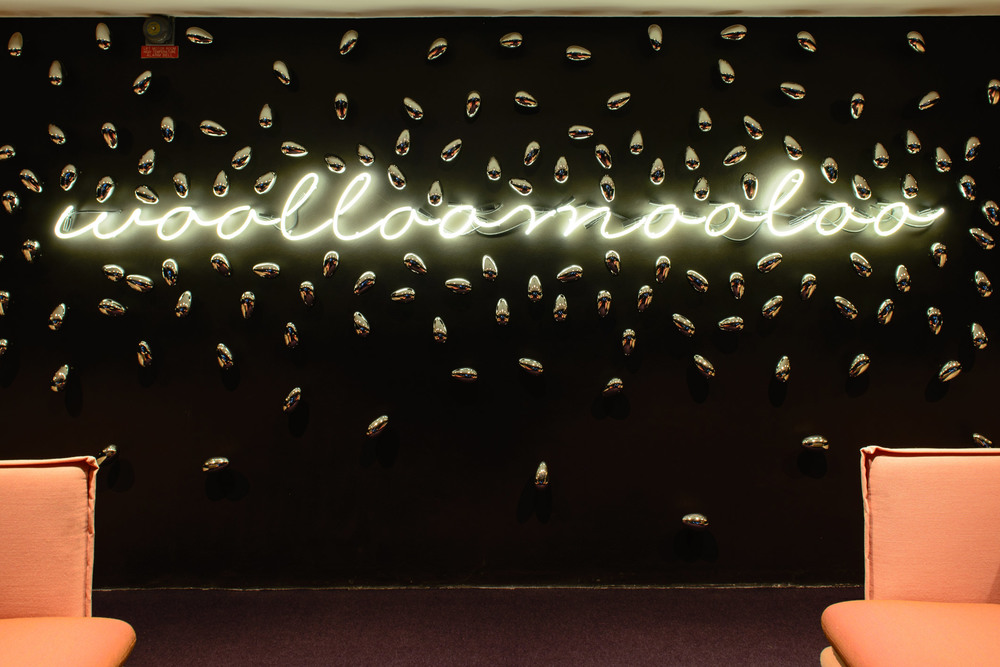 Raffaele De Vita Lighting. Ovolo Woolloomooloo Hotel. Sydney.