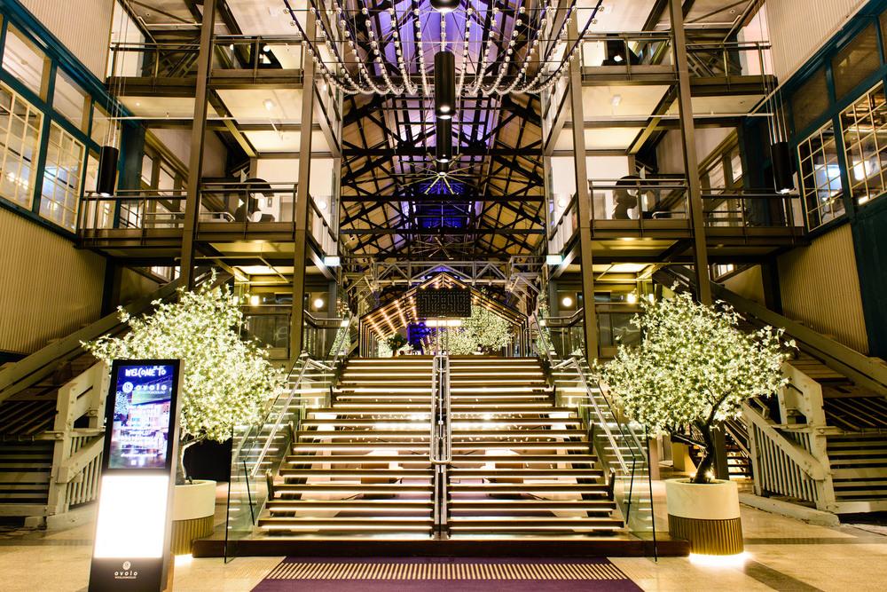 Raffaele De Vita Lighting. Ovolo Woolloomooloo Hotel. Sydney. Hassell Architect