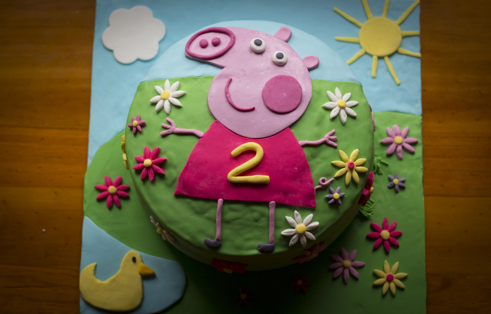 Tammy's 2nd birthday cake whipped up by the very talented Natasha Brunton from Precious Foods...oh tasted delish too!
