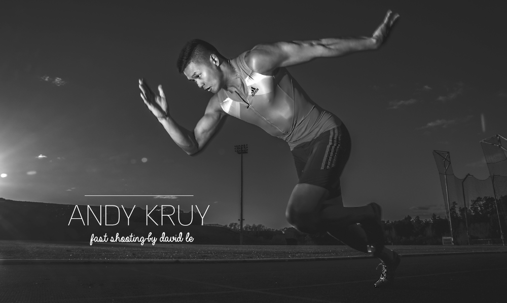 Andy Kruy, Sport Manawatu Community Sports Advisor and one of the fastest men in New Zealand.