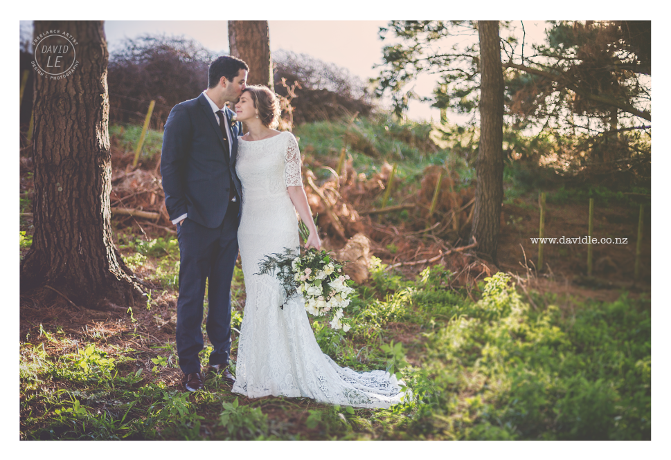Some natural light goodness on the back of the farm of Hamish & Paige, too cute.