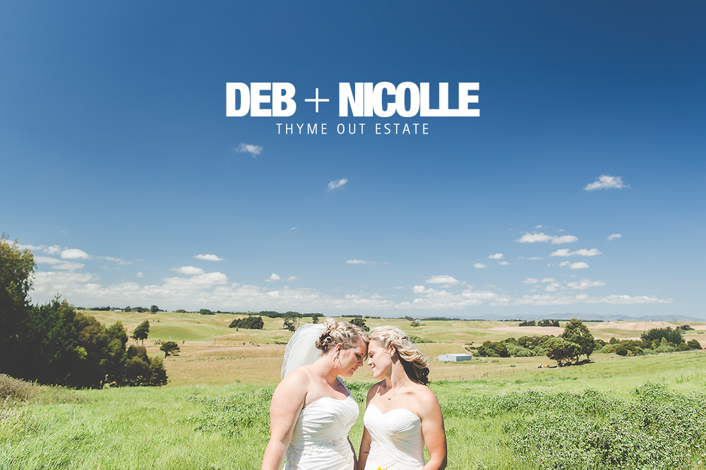 Check out Deb + Nicolle's wedding at Thyme Out Estate!