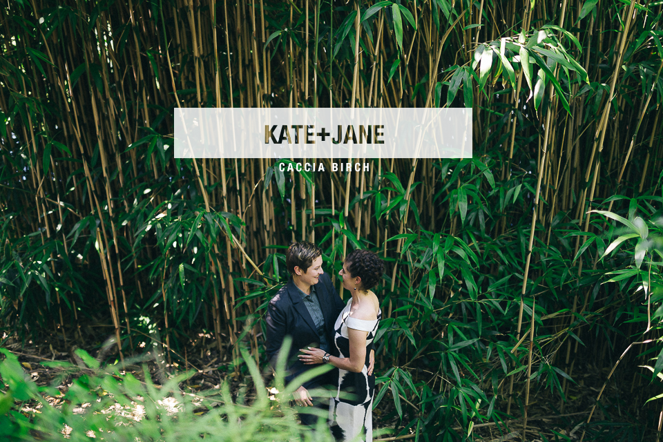 Kate + Jane's wedding is now the blog!