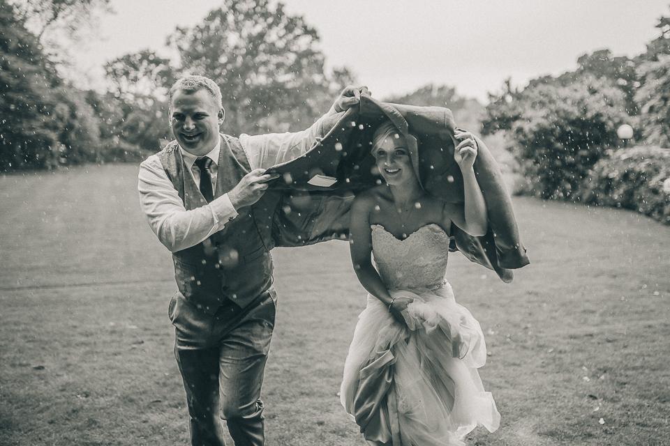 Braeden worlds best brother, bridesman and human umbrella!