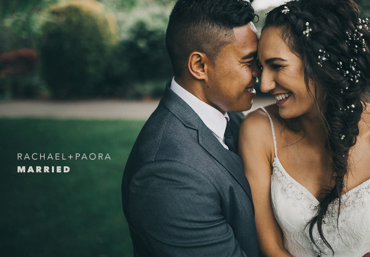 Check out the preview of Paora + Rachael's wedding below!