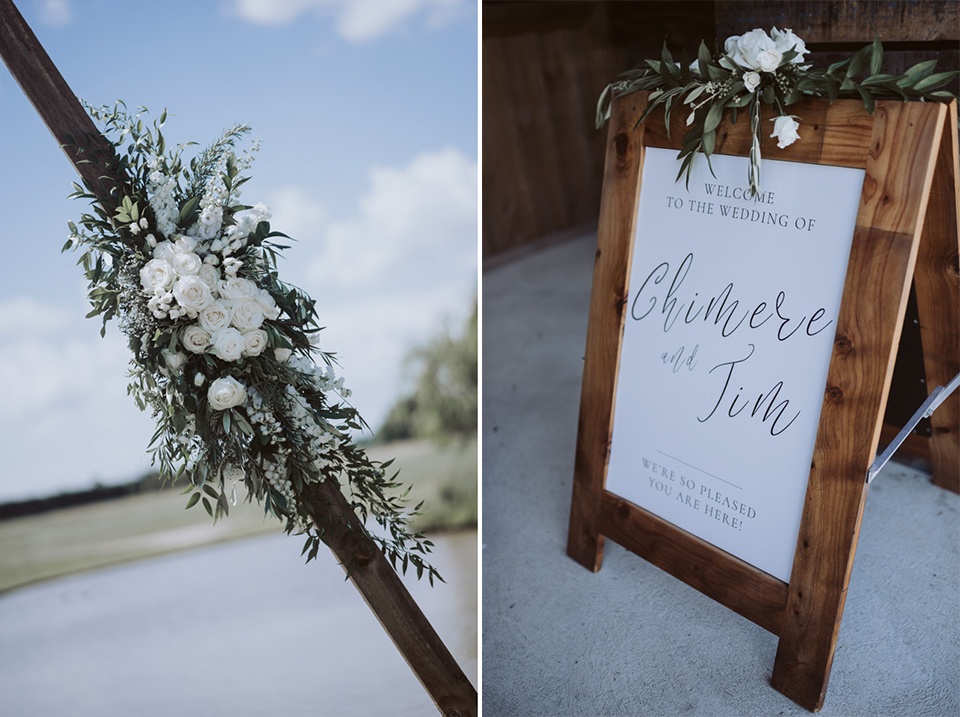 Chimere + Tim Wedding