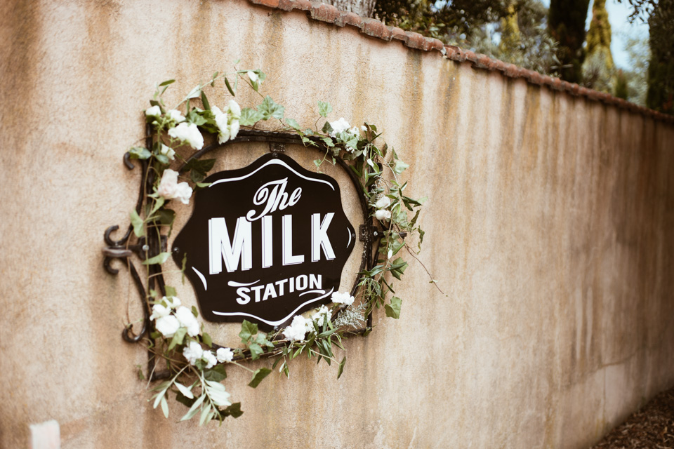 Emma + Will / The Milk Station