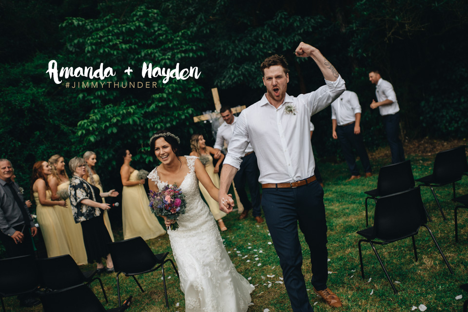Amanda + Hayden's wedding in  Pohangina Valley