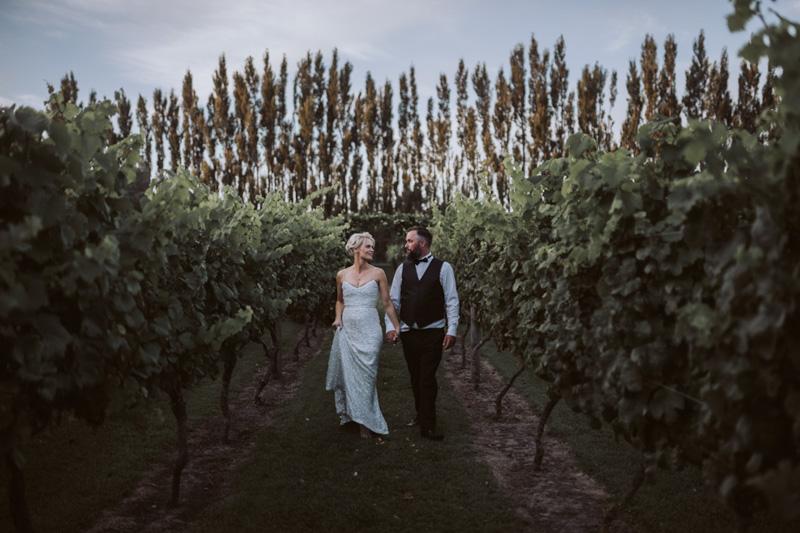 Amy + Joel // Cossars Wineshed