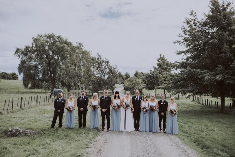 Georgie + Glenn // Backyard Wedding