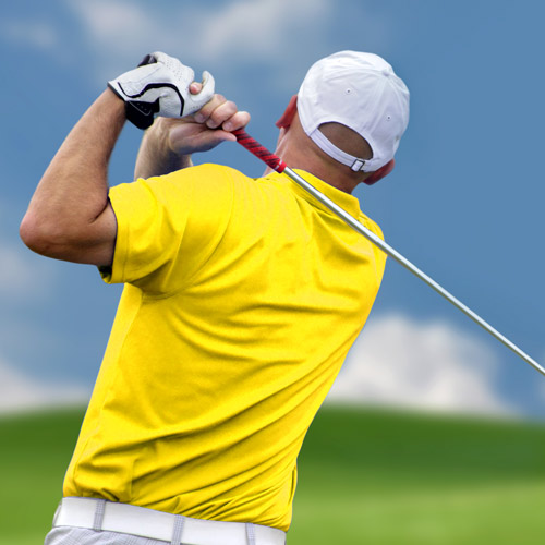 GOLF - Improve your swing.