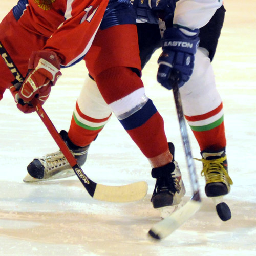 ICE HOCKEY - Stronger stick control.