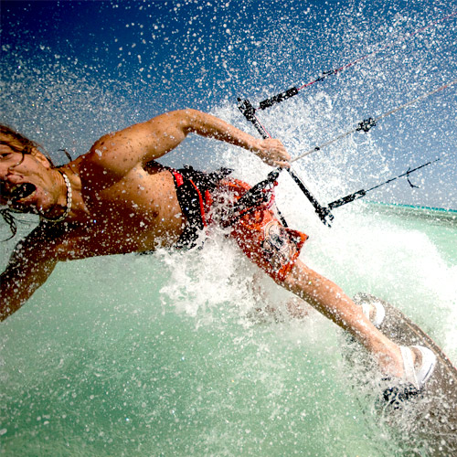 WAKE BOARDING - More grip = more possibilities.