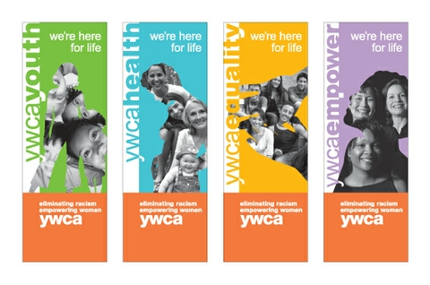 YWCA GT Event Banners