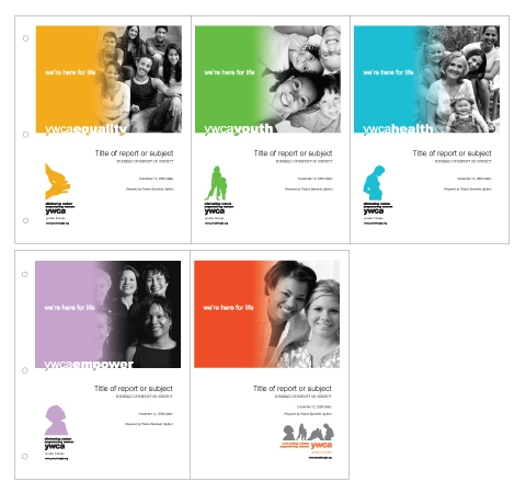YWCA GT Initiative Templates