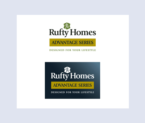 Rufty Homes Advantage Series Logo