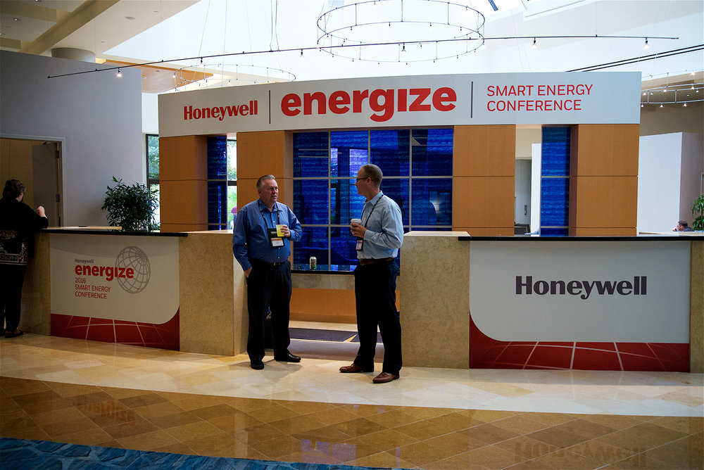 Reception Area Honeywell Energize 2016 Orlando FL