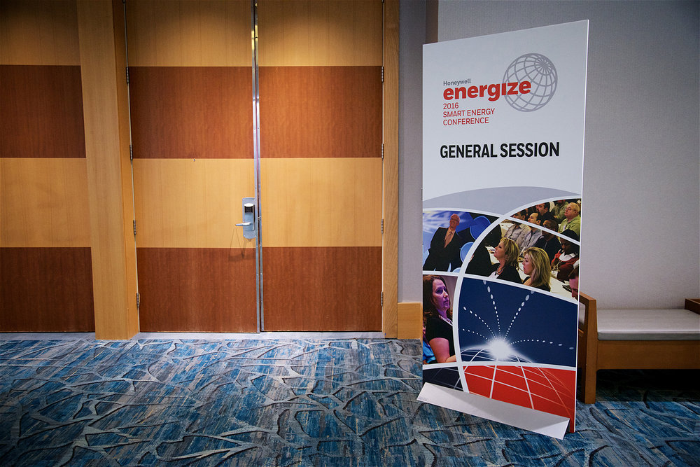 Session Sign Honeywell Energize 2016 Orlando FL