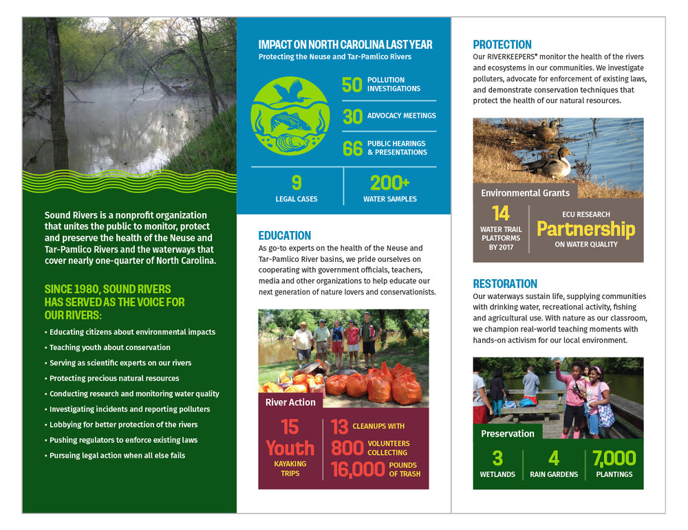 Sound Rivers Giving Brochure