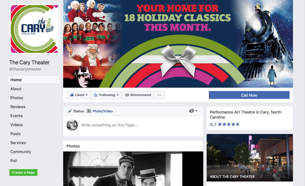 Facebook Christmas Promotion