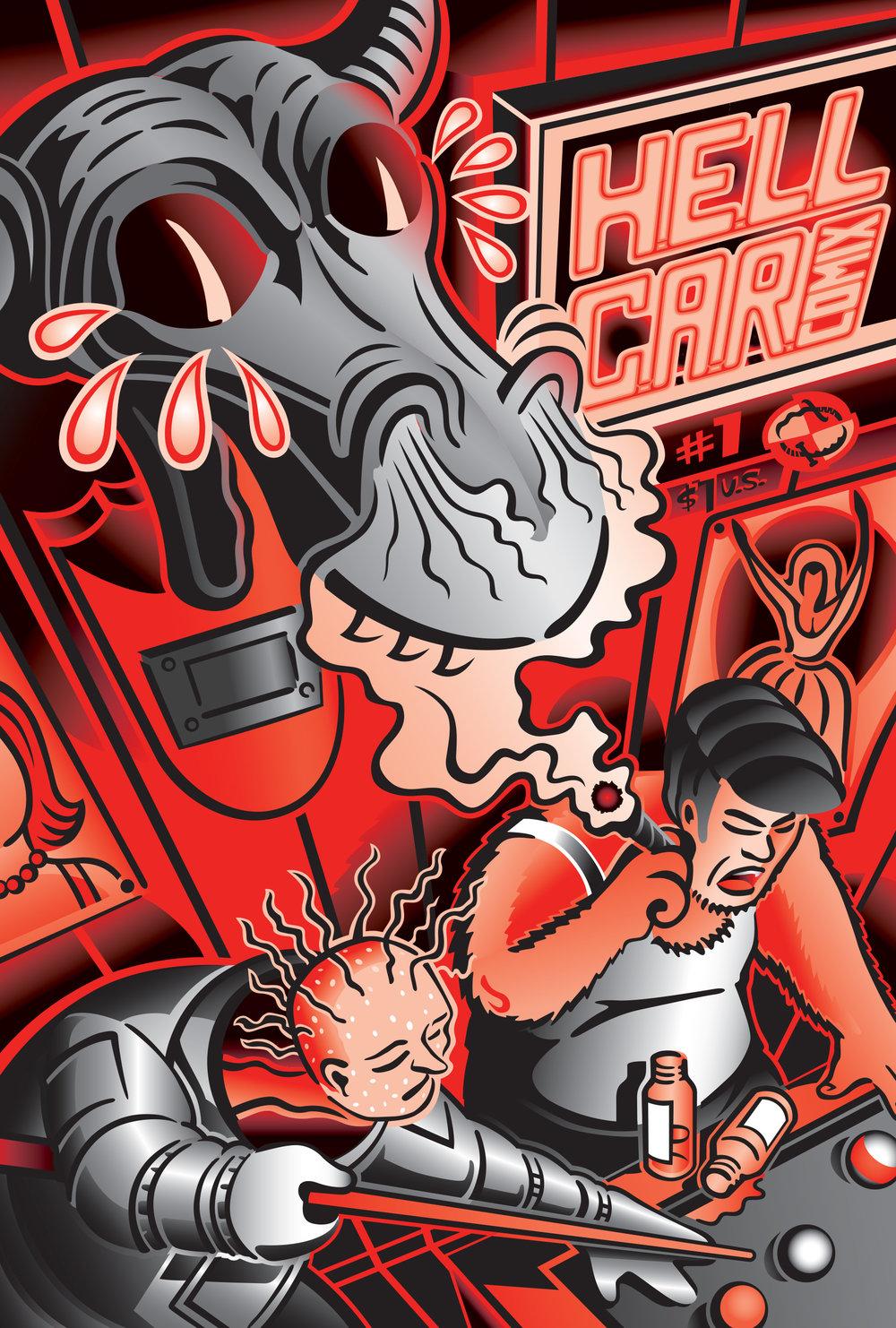 HellCar Comix #2 Cover