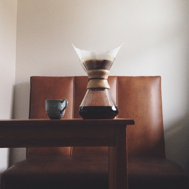 Good morning [!] with Ceremony's Peru Cenfrocafe (via @constellationpgh). What's in your cup this morning?      #coffee #chemex #ceremonycoffee #pourover #goodmorning #morningroutine