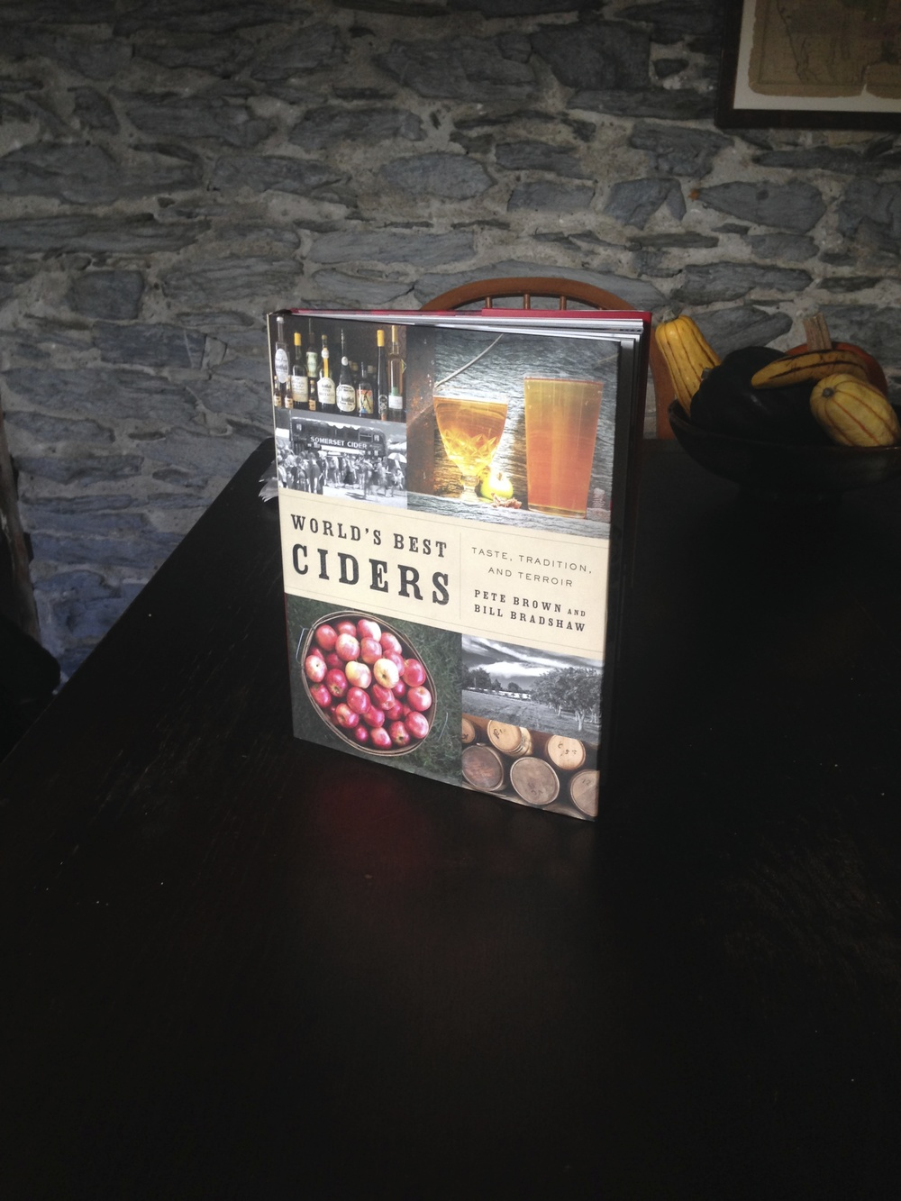 Bill Bradshaw's newest book. Incredible photos and great narrative on the cider renaissance.