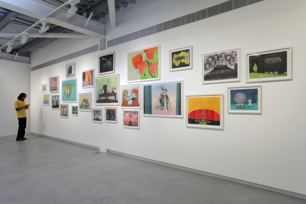 Installation view Sharjah Biennial 11, Sharjah. Image courtesy: Sharjah Art Foundation.