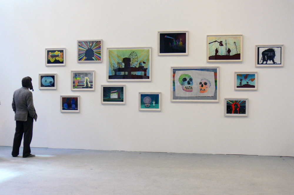 Installation view Intense Proximity, La Triennale, Palais de Tokyo, Paris, 2012.