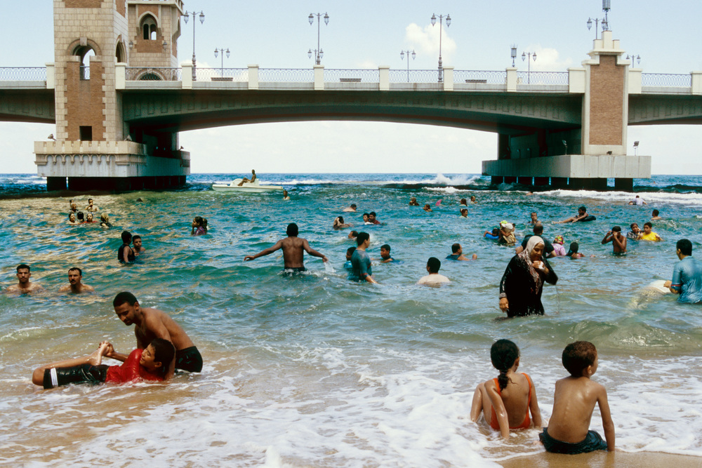 Beach, Domestic Tourism I series, 2005, C-print, 75 x 50 cm.