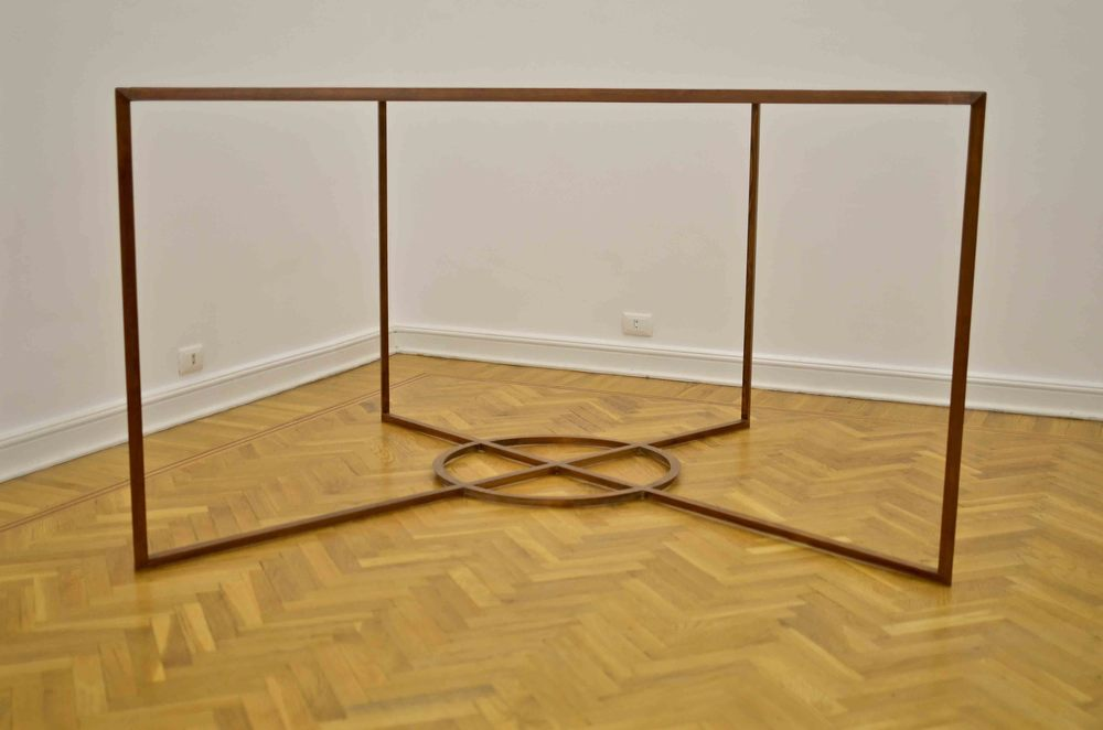 Doa Aly, Sculpture #1(Metamorphoses: The Sequences), polished wood, 100 x 115 x 145 cm. Edition 3 + 1AP 2013