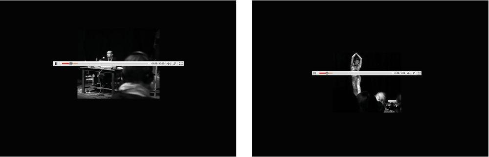 Mahmoud Khaled, Google Me / Duplicate Self-portrait, 2010, digital collage, 105 x 75 x 7 cm