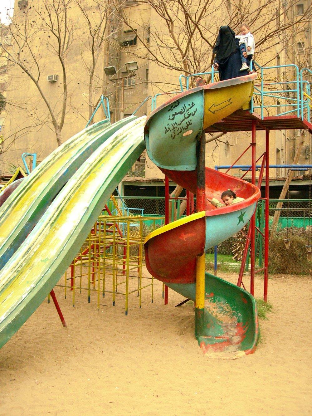 El-Sayyida Park #01, 2008, C-print, dimensions variable.