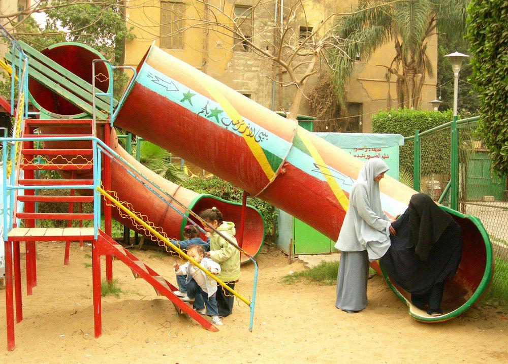 El-Sayyida Park #02, 2008, C-print, dimensions variable.