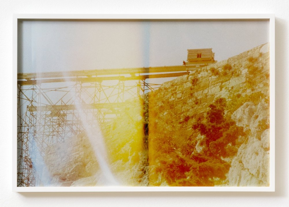 The Hollow Desire to Populate Imaginary Cities, 2014, 30 C- Prints from chemically altered slides on metallic paper, 34 x 50 cm, Edition 3 + 1AP