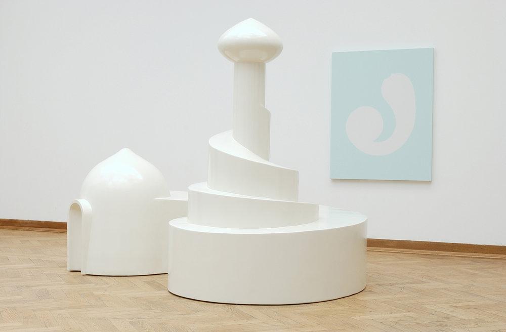 Untitled (Industrial Harem), 2003. Installation view, Transferts, Palais des Beaux-Arts, Brussels, Belgium