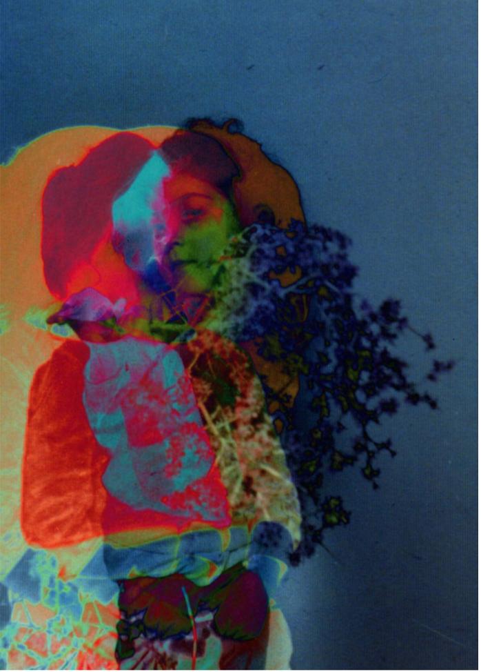 Spectral Days, archival ink print, 28 x 20 cm, 2013.
